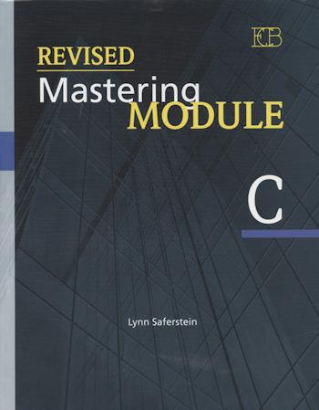 ריויזד מאסטרינג Revised Mastering Modules C
