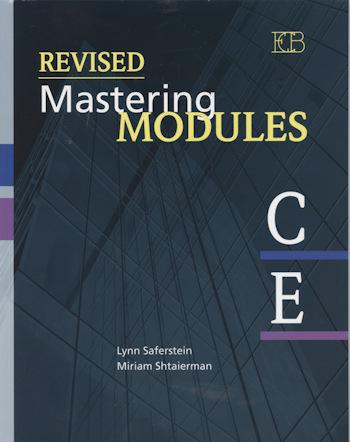 ריויזד מאסטרינג Revised Mastering Modules C-E