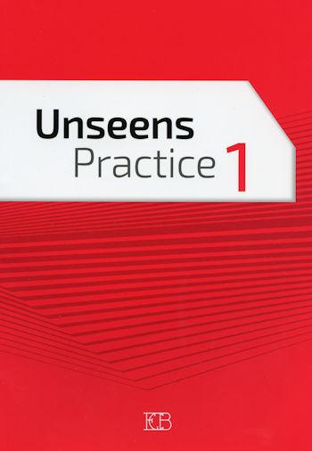 אנסין פרקטיס 1 אדום Unseen Practice