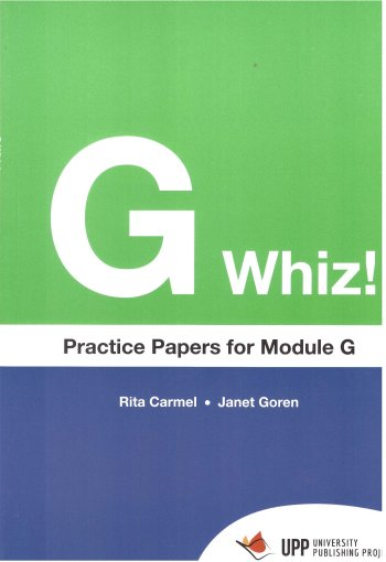 G Whiz ! Practice Papers for Module G
